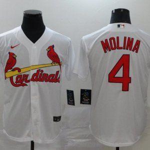 Men's Yadier Molina St. Louis Cardinals Jersey